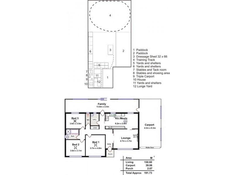 183 Dawkins Road, Lewiston SA 5501 Floorplan