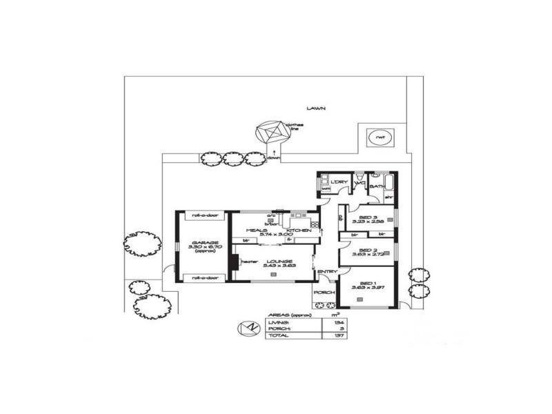 41a Fourth Avenue, Klemzig SA 5087 Floorplan