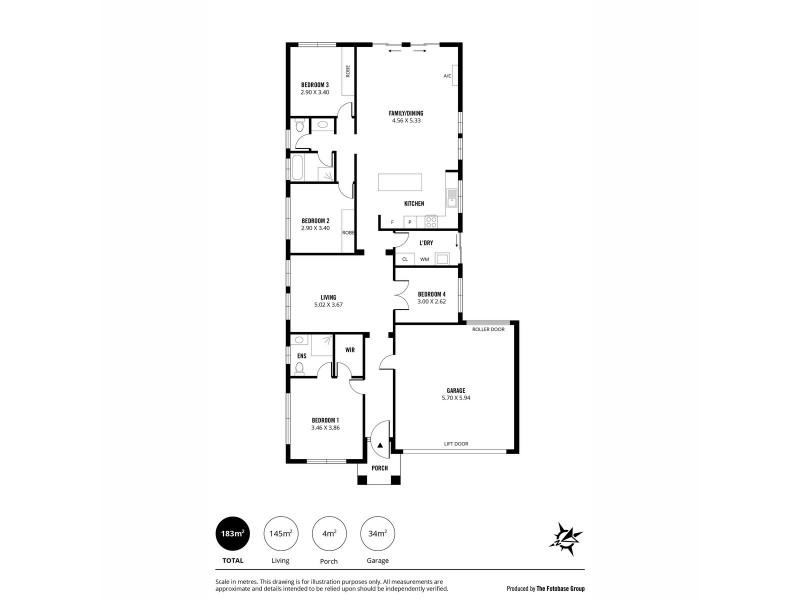 12 Glenrowan Street, Andrews Farm SA 5114 Floorplan