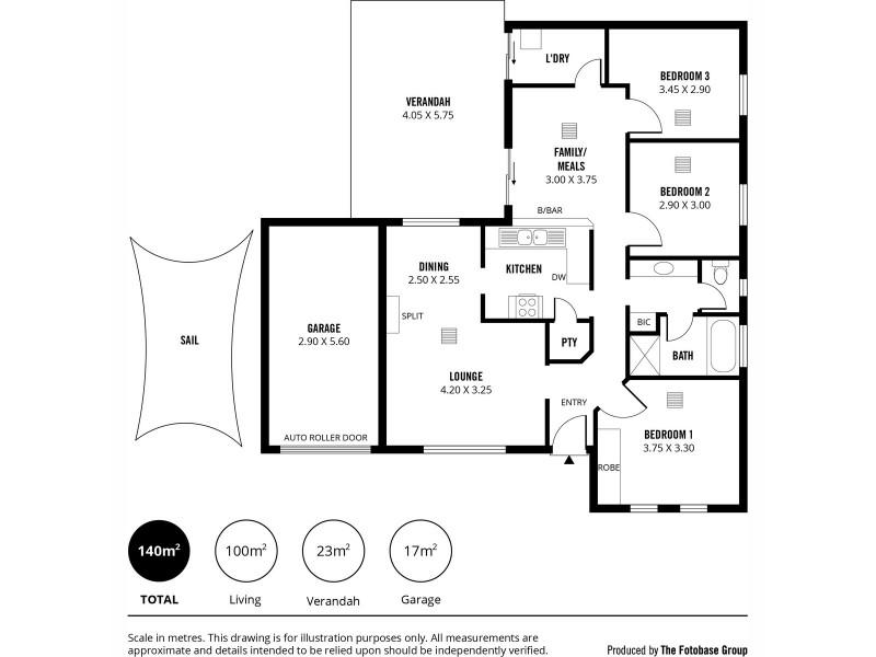 137 Collins Street, Broadview SA 5083 Floorplan