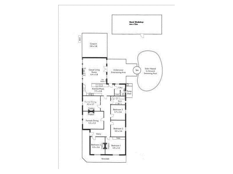 88 Woodville Road, Woodville SA 5011 Floorplan