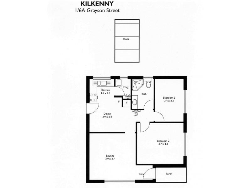 1/6a Grayson Street, Kilkenny SA 5009 Floorplan