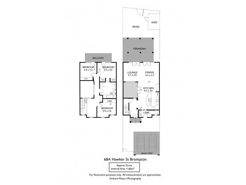 68a Hawker Street, Brompton SA 5007 Floorplan
