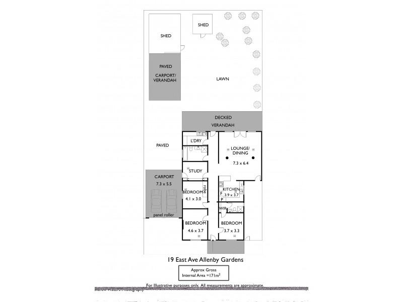 19 East Avenue, Allenby Gardens SA 5009 Floorplan
