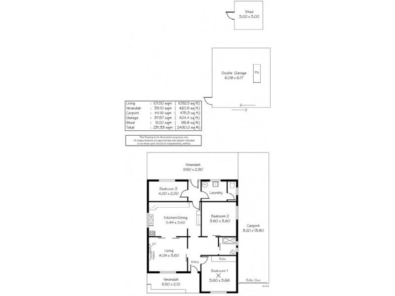81 Selth Street, Albert Park SA 5014 Floorplan