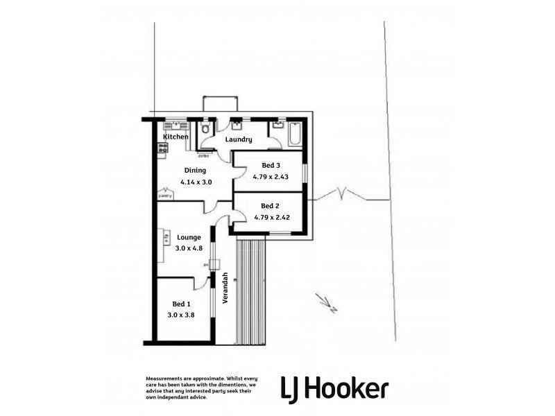 48 Tisbury Street, Elizabeth North SA 5113 Floorplan