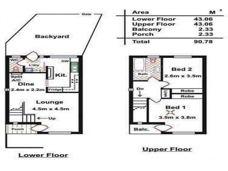 1/100 Marshall Terrace, Brooklyn Park SA 5032 Floorplan