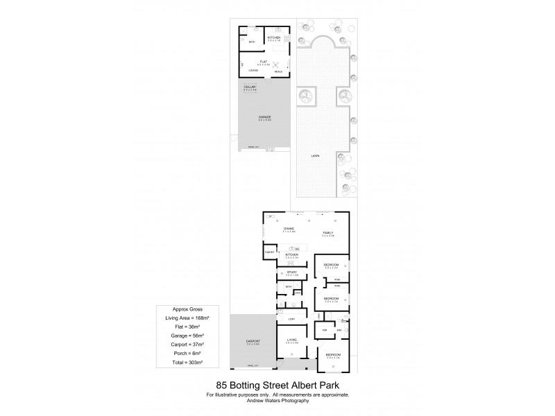 85 Botting Street, Albert Park SA 5014 Floorplan