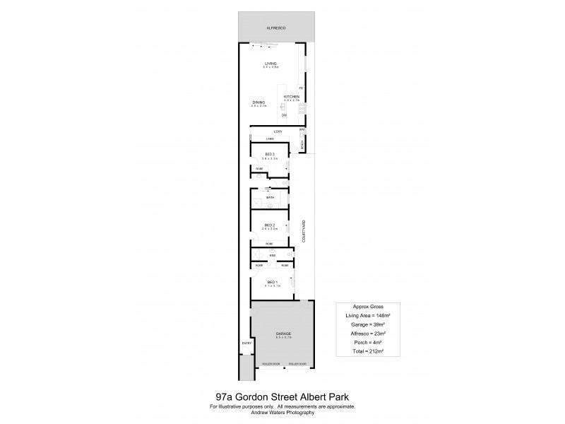 97A Gordon Street, Albert Park SA 5014 Floorplan