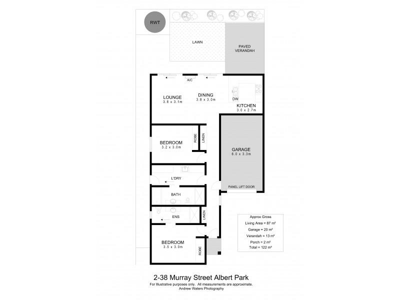 2/38 Murray Street, Albert Park SA 5014 Floorplan