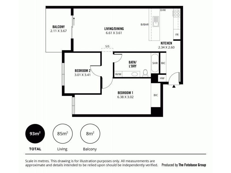 7/28 Union Street, Adelaide SA 5000 Floorplan