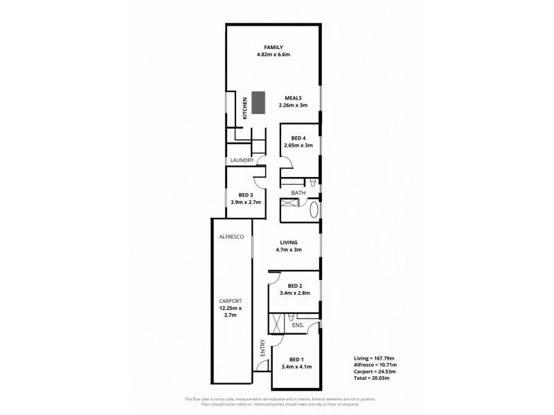22 Gordon Street, Albert Park SA 5014 Floorplan