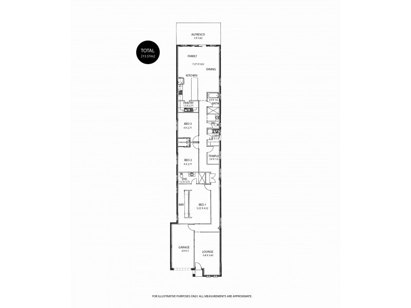 34A Brenthorpe Road, Seaton SA 5023 Floorplan