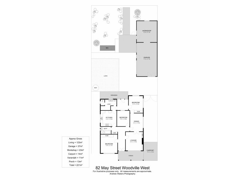 82 May Street, Woodville West SA 5011 Floorplan