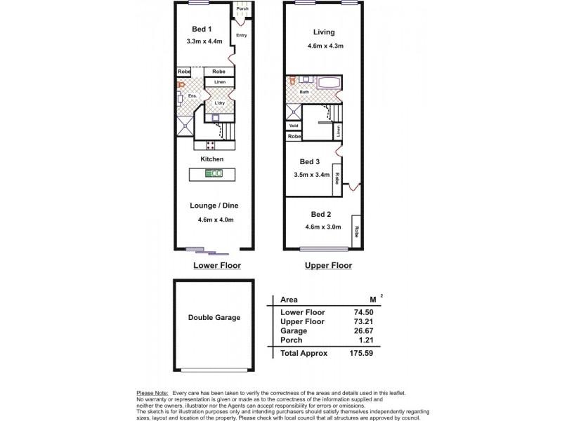 31 St Clair Avenue, Woodville SA 5011 Floorplan