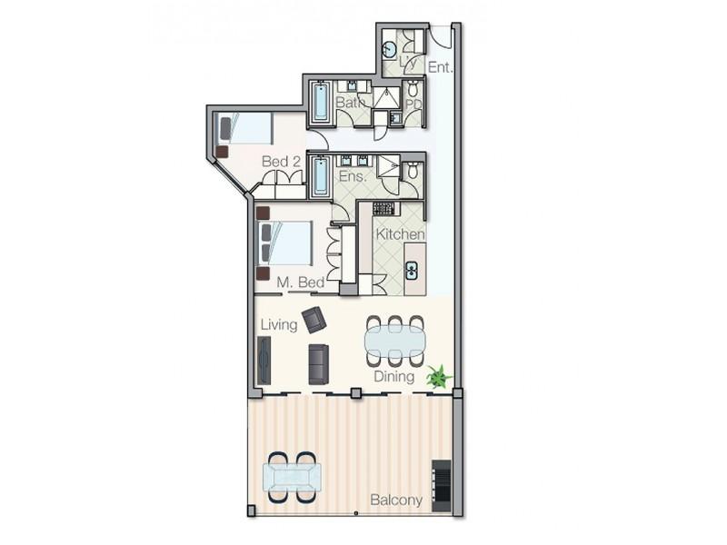 55/30 Sirrocco Drive, Erskine WA 6210 Floorplan