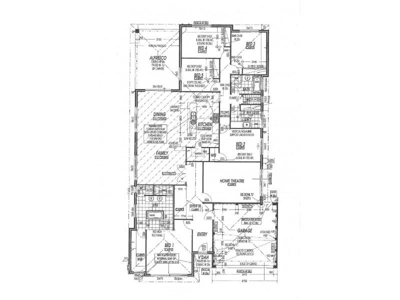 14 Bates Way, Warnbro WA 6169 Floorplan