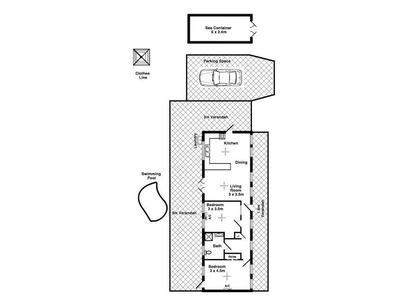 13 Wandaree Street, Batchelor NT 0845 Floorplan