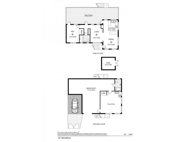 32 Wandaree Street, Batchelor NT 0845 Floorplan