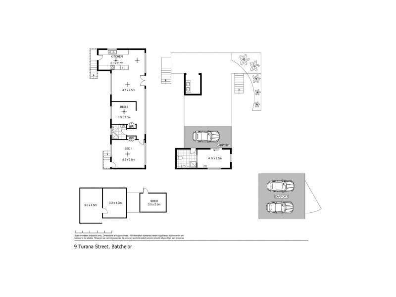 9 Turana Street, Batchelor NT 0845 Floorplan