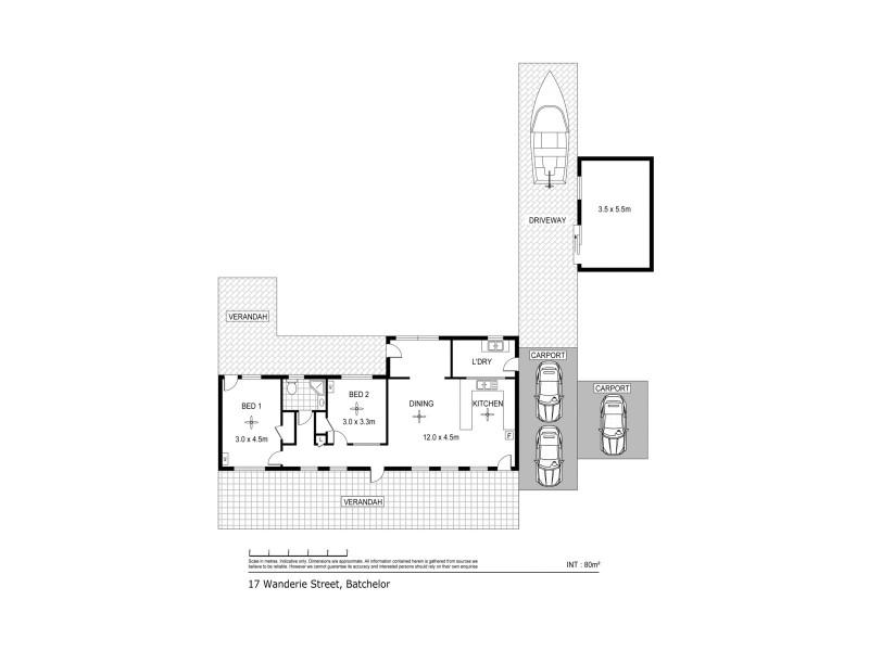 17 Wandaree Street, Batchelor NT 0845 Floorplan