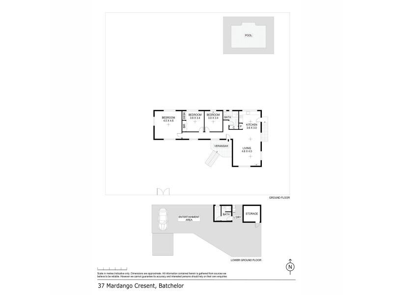 37 Mardango Crescent, Batchelor NT 0845 Floorplan