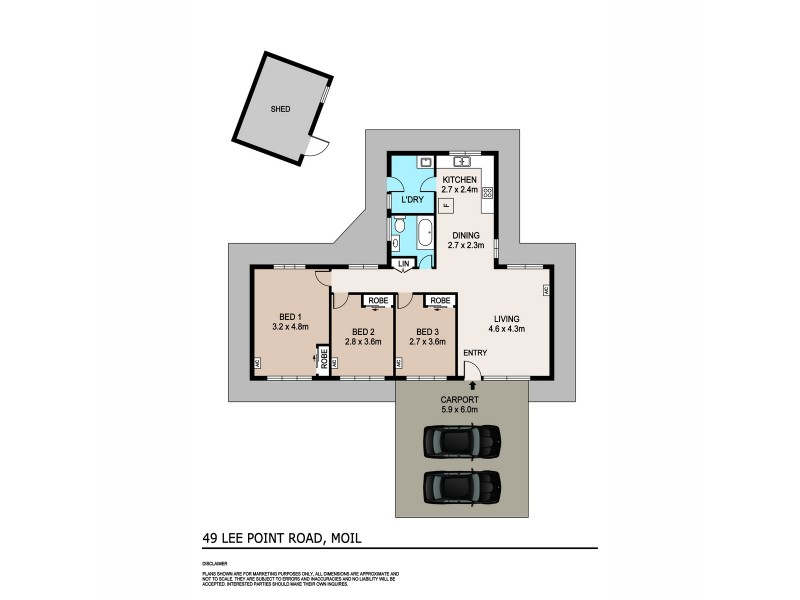49 Lee Point Road, Moil NT 0810 Floorplan