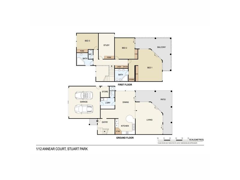 1/12 Annear Court, Stuart Park NT 0820 Floorplan