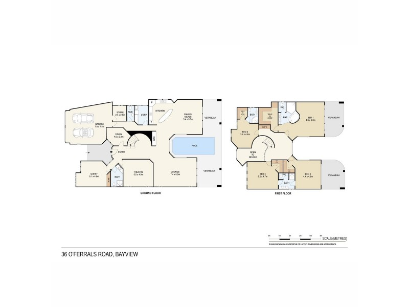 36 O'Ferrals Road, Bayview NT 0820 Floorplan