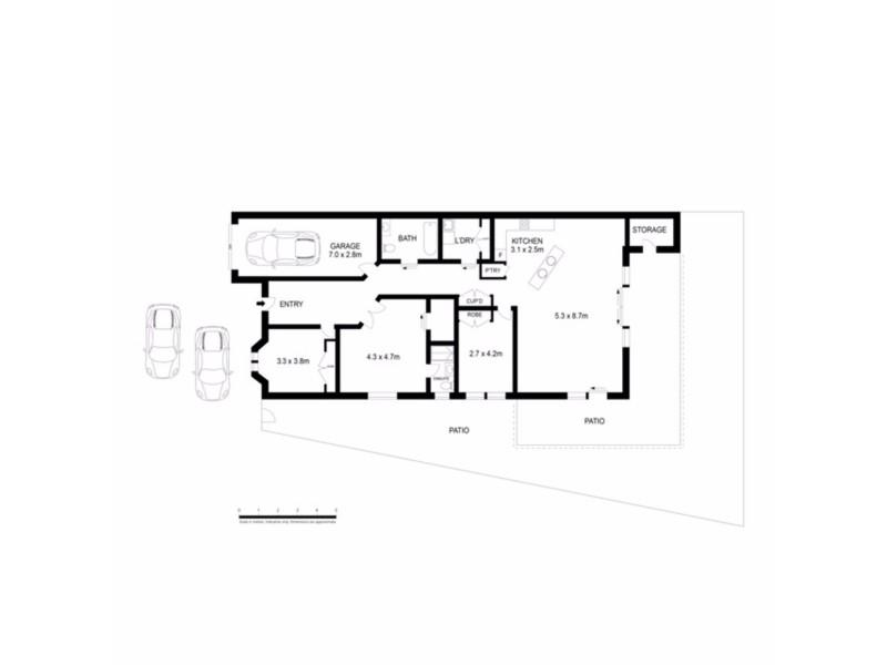 2/40 Yirra Crescent, Rosebery NT 0832 Floorplan