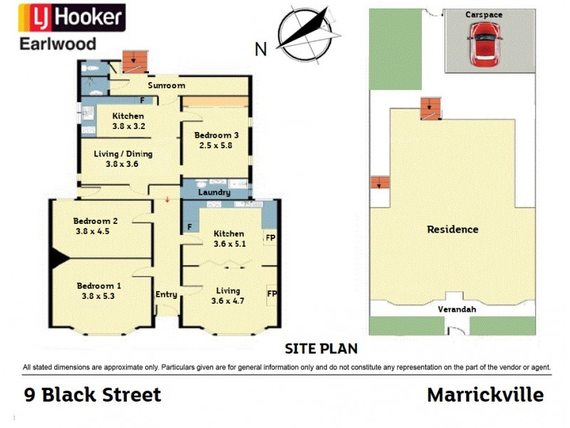 9 Black Street, Marrickville NSW 2204 Floorplan