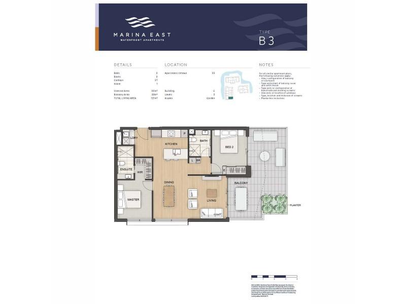 55/16 Marina Drive, Ascot WA 6104 Floorplan