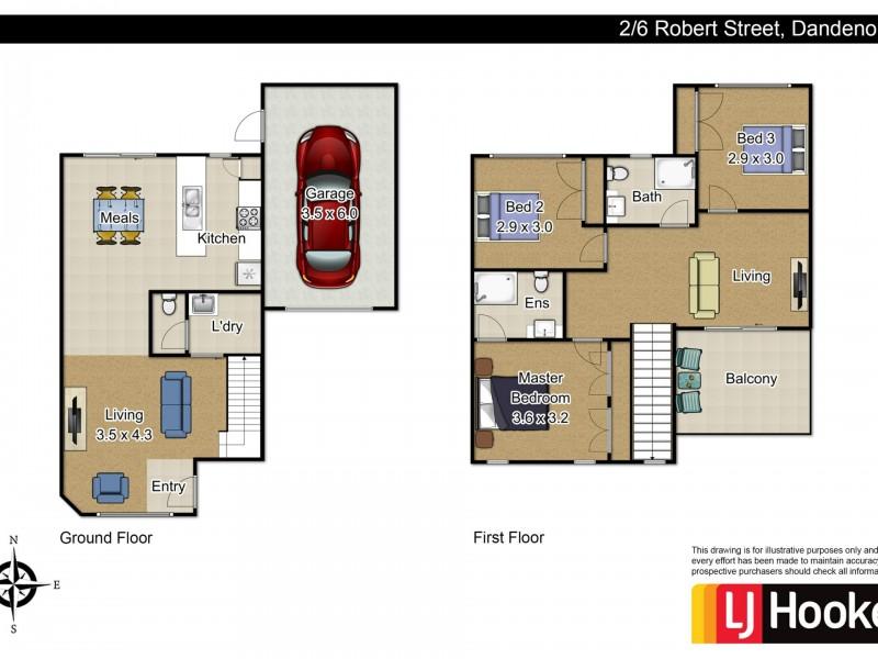 Unit 2/6. Robert Street, Dandenong VIC 3175
