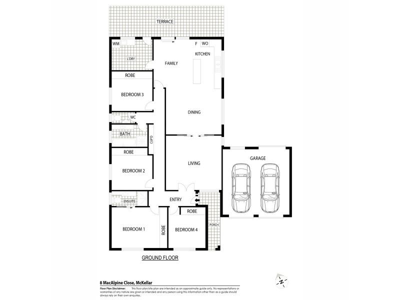 8 Macalpine Close, Mckellar ACT 2617 Floorplan