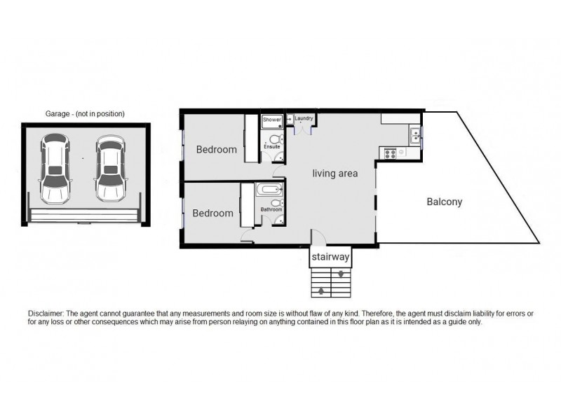 3/275 Shafston Avenue, Kangaroo Point QLD 4169 Floorplan