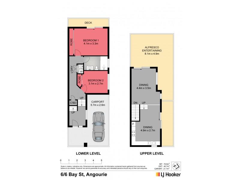 Unit 6/6 Bay Street, Angourie NSW 2464 Floorplan