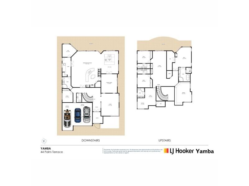 44 Palm Terrace, Yamba NSW 2464 Floorplan