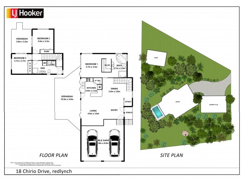 18 Chirio Drive, Redlynch QLD 4870 Floorplan