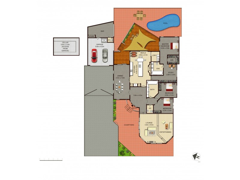 8 Pelsart Street, Red Hill ACT 2603 Floorplan