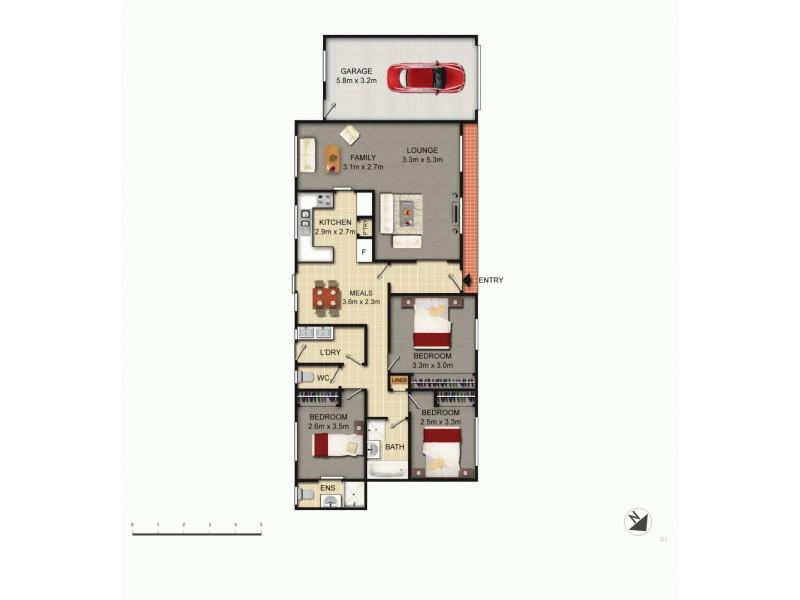 4 Richardson Circuit, Conder ACT 2906 Floorplan