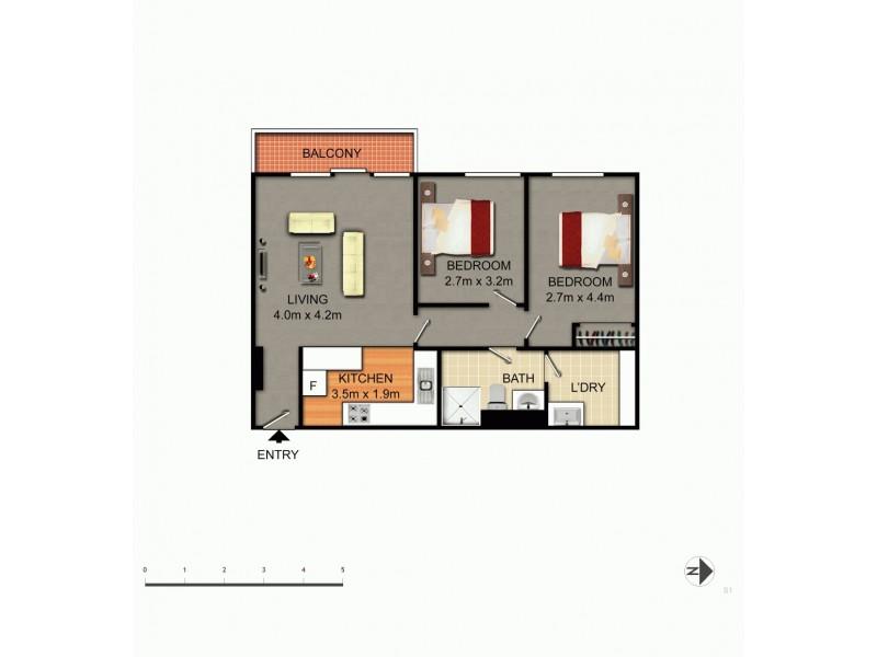 36/86 Derrima Road, Queanbeyan NSW 2620 Floorplan
