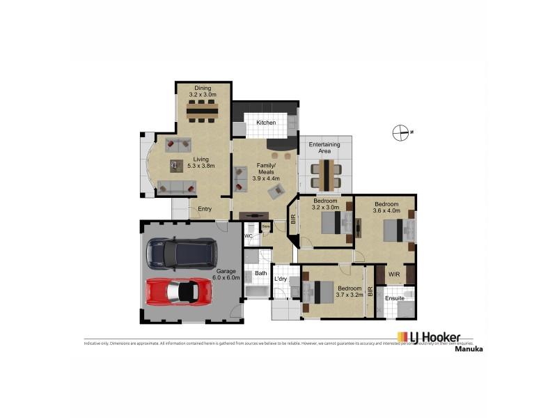 5/27 Temperley Street, Nicholls ACT 2913 Floorplan