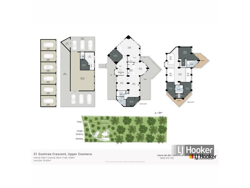 31 Gumtree Crescent, Upper Coomera QLD 4209 Floorplan
