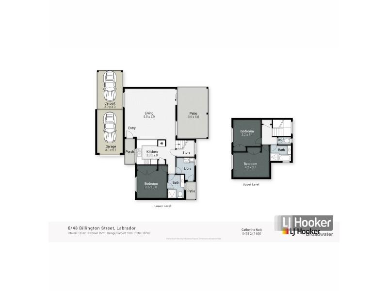 6/48 Billington Street, Labrador QLD 4215 Floorplan