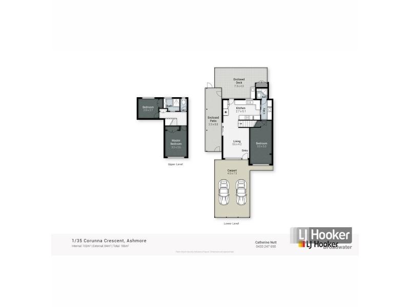 1/35 Corunna Crescent, Ashmore QLD 4214 Floorplan