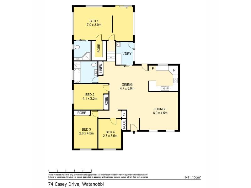 74 Casey Drive, Watanobbi NSW 2259 Floorplan