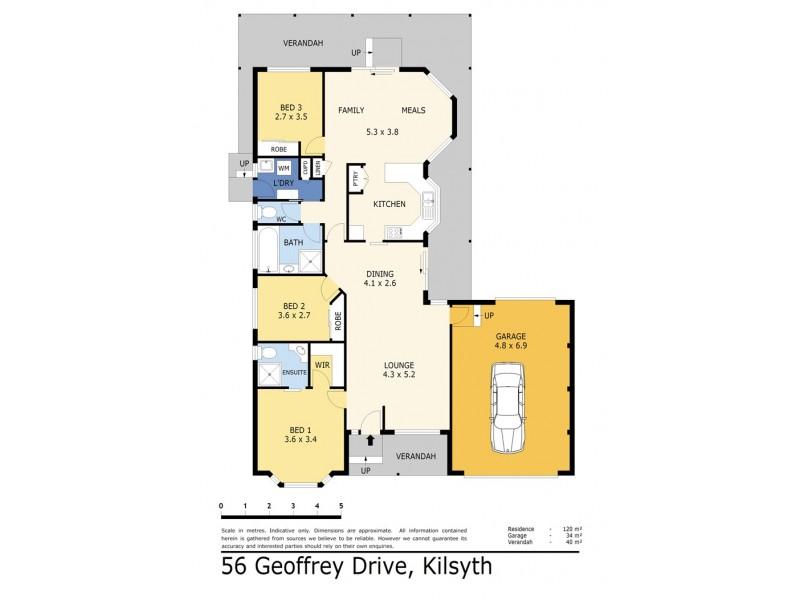 56 Geoffrey Drive, Kilsyth VIC 3137 Floorplan