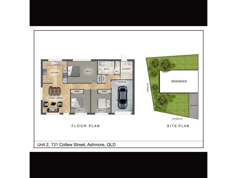 2/131 Cotlew Street, Ashmore QLD 4214 Floorplan