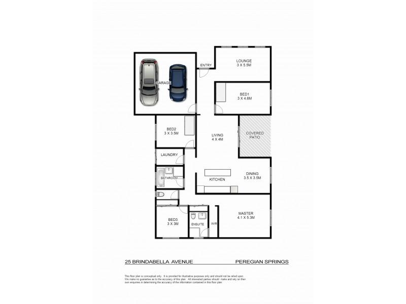 25 Brindabella Avenue, Peregian Springs QLD 4573 Floorplan
