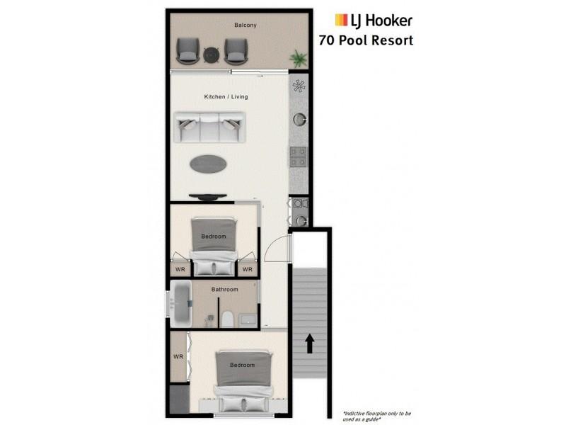 70 Pool/19 St Crispins Avenue, Port Douglas QLD 4877 Floorplan